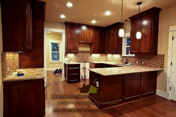 Custom Kitchen in a New Home Build in Heights Houston Tx.