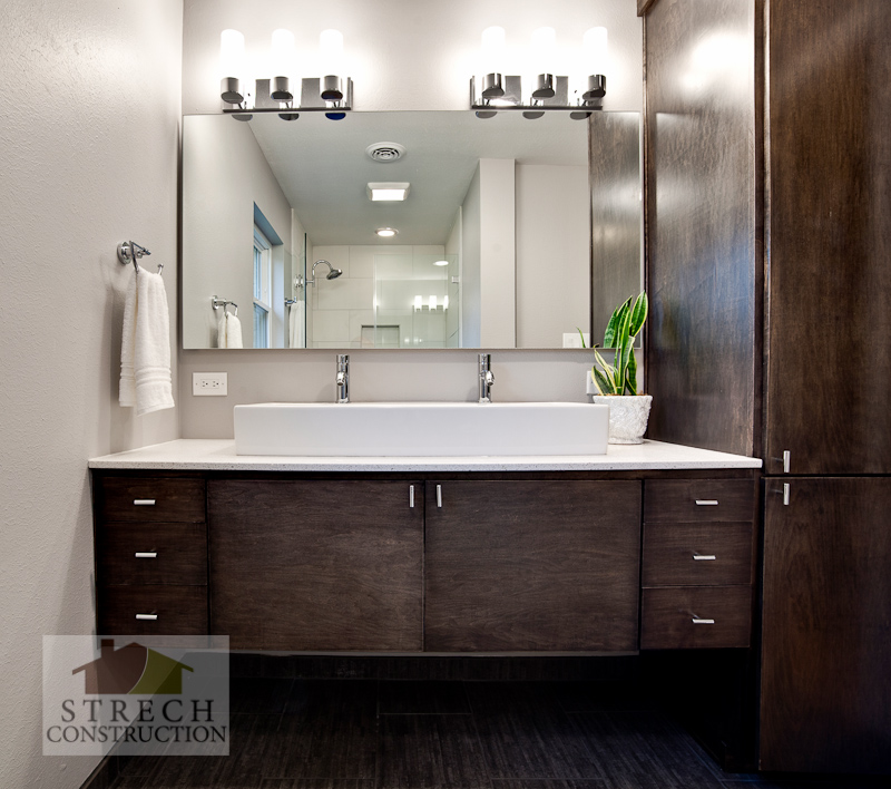bathroom remodel modern bellaire houston